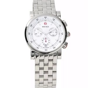 Michele Sport Sail  Stainless Steel Watch